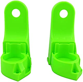 Replacement Parts for Fisher-Price Deluxe Kick 'n Play Piano Gym FGG45 - Includes 2 Green Hubs - Left and Right