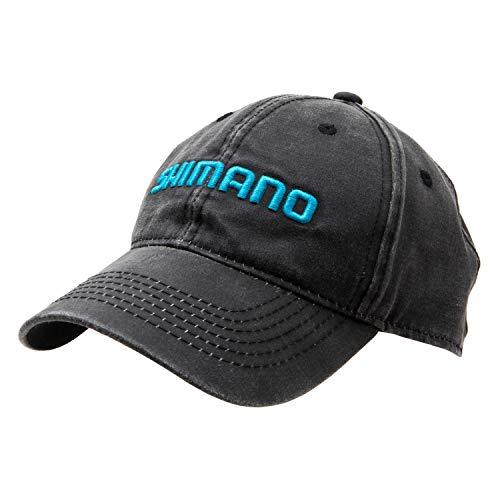 SHIMANO Vintage Style Cap, Black, One Size