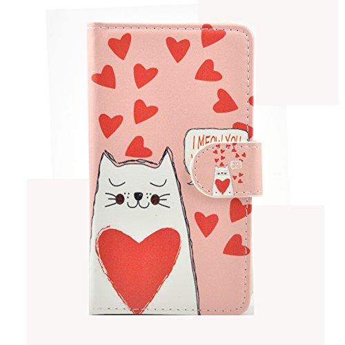 ikracase Slide Design für Medion Life X5020 Smartphone Handytasche Schutzhülle Tasche Case Cover Hülle Motiv Design 5