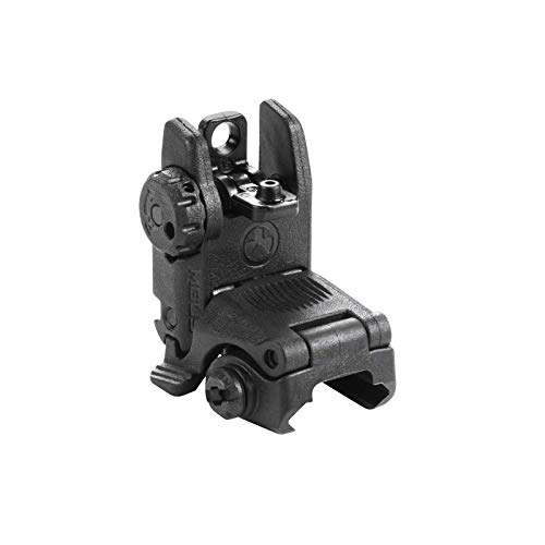 Magpul MBUS Flip-Up Backup Sights, Black, Rear Sight