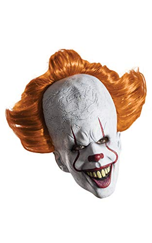 Rubie's mens It Movie Overhead Pennywise Costume Mask, 2017 Version, One Size US