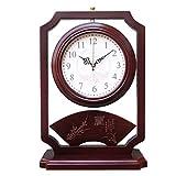 Relojes de Suelo Nuevo reloj de escritorio de doble cara chino sala de estar decoración reloj de escritorio reloj de escritorio reloj de doble cara retro sala de estar escritorio escritorio reloj de r