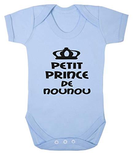 Click My Clobber, Bébé Body, Petit Prince De Ma Nounou, Bleu, 6-12M