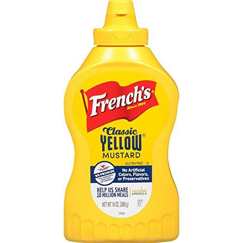 Französisch Klassischen Gelben Senf (226G)