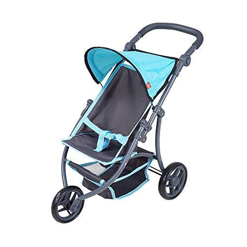 Knorrtoys 16580 - Puppenwagen Jogger Lio - tec blue
