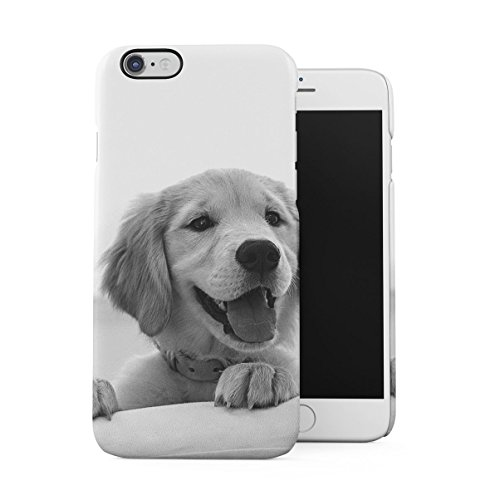Cute Little Baby Labrador Dog H& Dünne Handy Schutzhülle Hardcase Aus Hartplastik Hülle Kompatibel mit iPhone 6 / iPhone 6S Handyhülle Case Cover