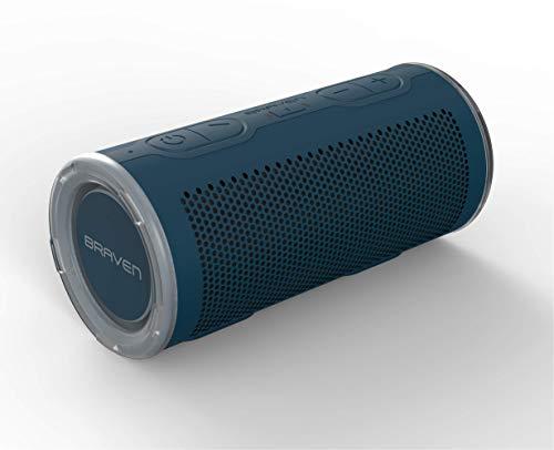 Braven BRV-360 Bluetooth luidspreker IP67 waterdicht ideaal voor rugzakken met 5000 mAh powerbank blauw