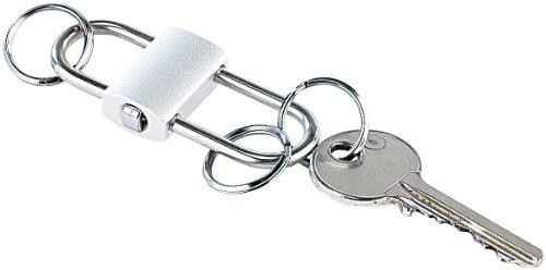 Unbekannt PEARL Schlüsselring abnehmbar: Schlüsselanhänger Ultraflexible mit 3 einzeln abnehmbaren Ringen (Easy Clip Schlüsselanhänger)
