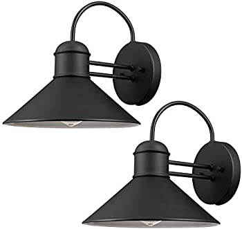 2-Pack Globe Electric 44165 Sebastien 1-Light Outdoor Wall Sconce