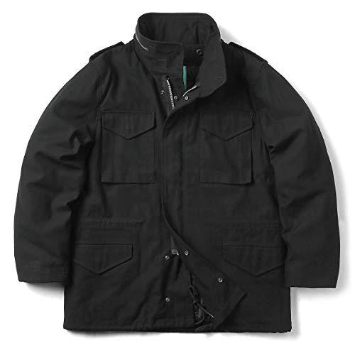 HOUSTON 50815 M-65 フィールドジャケット ライナー付き(S BLACK)