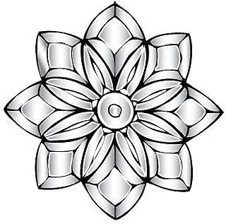 Victorian Flower Bevel Cluster