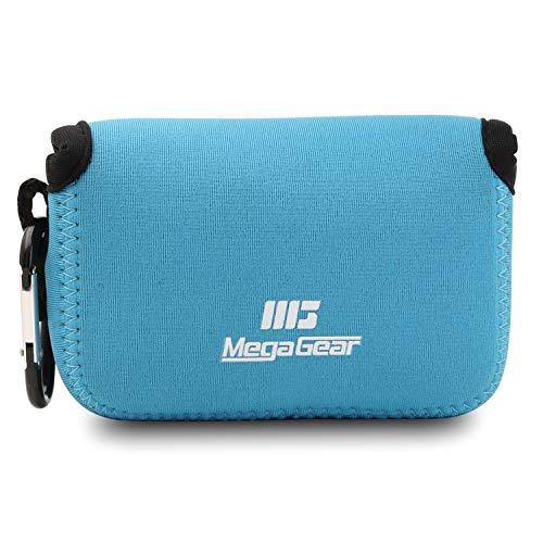 MegaGear MG791 Nikon Coolpix W100, S33 Ultraleichte Kameratasche aus Neopren - Blau