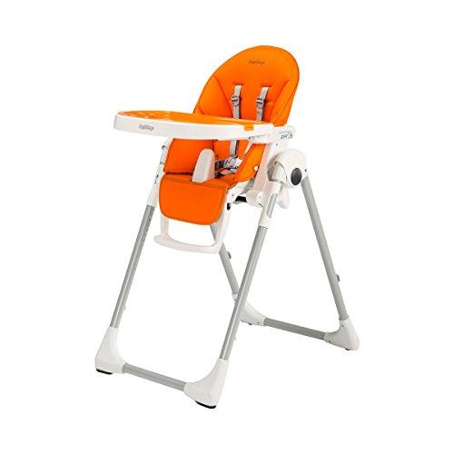 Peg-Pérego Prima Pappa Zero3 - Trona, color naranja (Naranja (Arancia) )