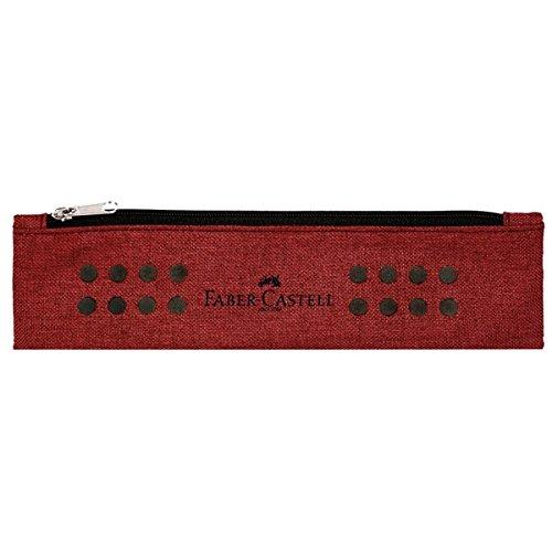Faber-Castell Grip Astuccio portamatite Poliestere Rosso