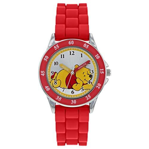 Winnie the Pooh Unisex Kinder Analog Quarz Uhr mit Gummi Armband WP3000