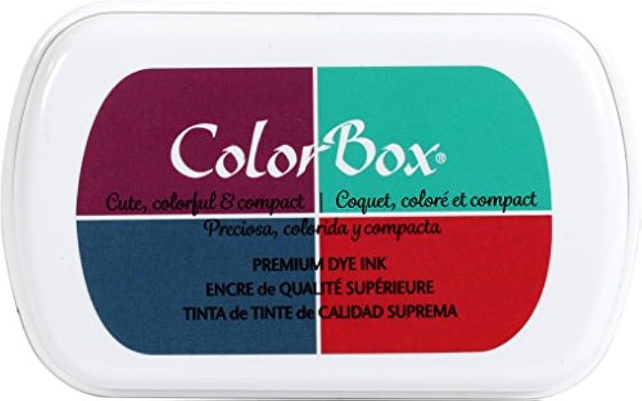 ColorBox 15855 Premium Dye 4-Color Inkpad, Full Size, Artsy
