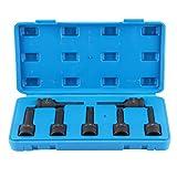 Extractor de rosca dañado, removedor de pernos rotos de 12,5 mm para reparación de máquinas, reparación automática de repuesto para tornillo Easy Out Set para taladro extractor de pernos