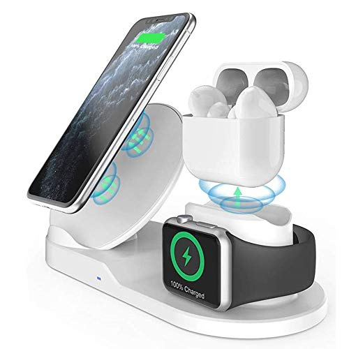 Wireless Charger, 3 in 1Charging Station for Multiple Devices,...