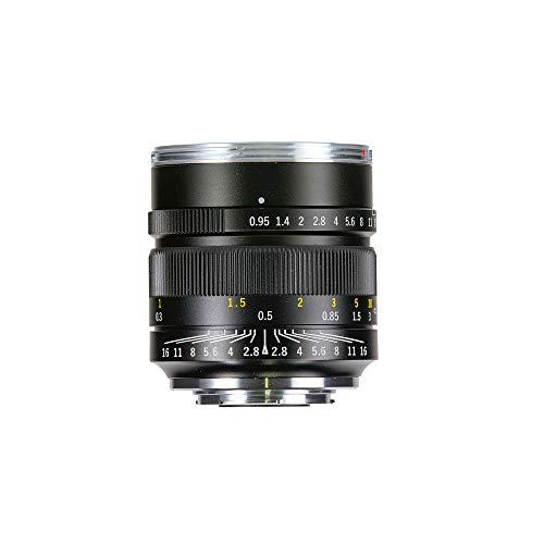 Zhongyi Mitakon Speedmaster 17mm F0.95 para MFT, fotografías y películas en Condiciones de Poca luz con fantástico Bokeh, Negro