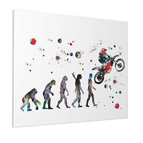 guatan sapiens Une brève Histoire de l'humanité peintures Toile Art Mural décoration de la Maison tendue et encadrée prête à accrocher 16x20 Pouces