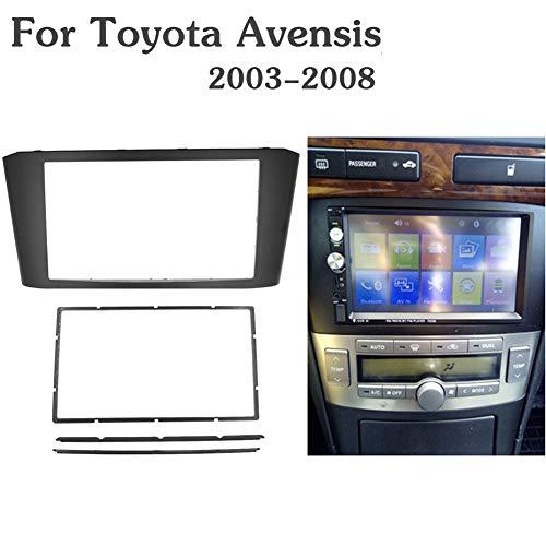 NBVNBV 2-DIN Marco de Plástico para Radio para T-oyota Avensis 2003-2008, Radio...