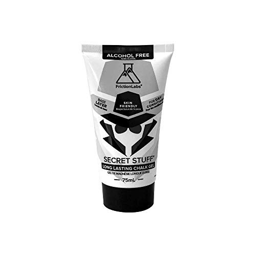 Friction Labs Secret Stuff Liquid Chalk, New Alcohol Free Blend - Sports Chalk Cream - Great Grip for Gymnastics, Rock Climbing, Sports, Lifting, Pull-Ups, Deadlifts, Kettlebells, Pole
