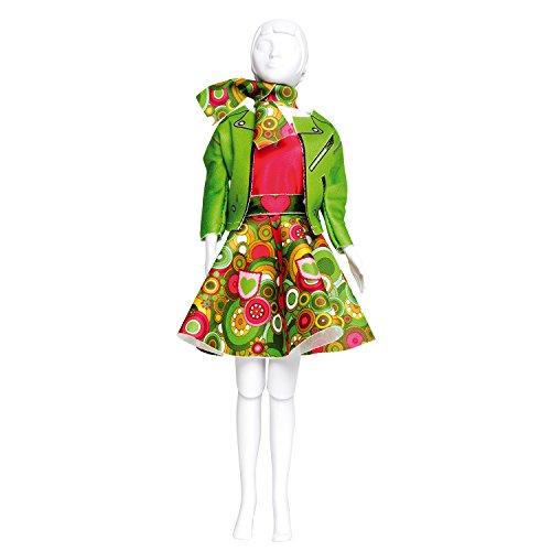 Vervaco PN-0164657 Kit de création de tenue de couture, Assortie, Convient à toute poupée de mode de 29 cm