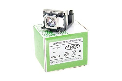 Alda PQ-Premium, Beamerlampe / Ersatzlampe für Eiki 6103452456 Projektoren, Lampe mit Gehäuse