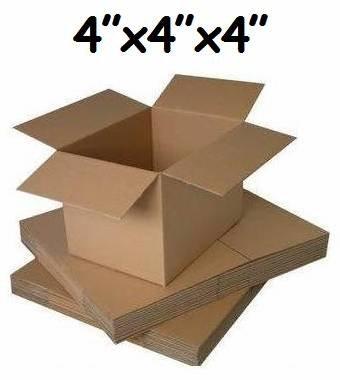500 cajas pequeñas de cartón para correo. Tamaño: 10,1 cm x 10,1 cm x 10,1 cm: Amazon.es: Oficina y papelería