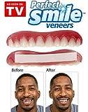 Perfect Smile - La increíble e instantánea FUNDA DE CARILLAS reutilizable y extraíble que te proporciona el aspecto de unos dientes perfectos...