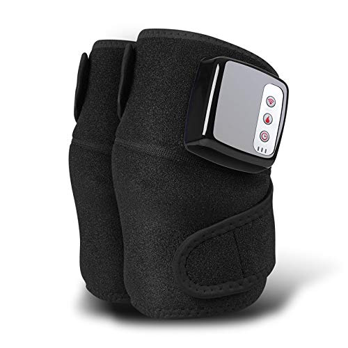 TWW Knee Massager, hot Compress, Vibration, Joint Pain, Multi-Function Charging, Heating Knee pad, Joint Physiotherapy Gift for The Elderly