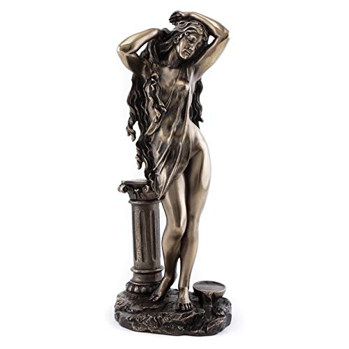 Top Collection Aphrodite Goddess Statue - Greek Roman Venus Mythology Sculpture- The Goddess of Love Figurine in Cold Cast Bronze- 10.75-Inch Figurine