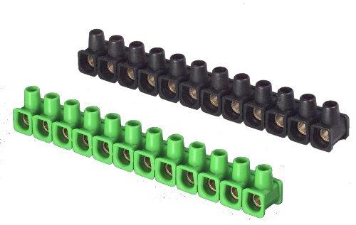 UNITEC 40620 Dosenklemme, 12 x 2.5 mm², 10 Stück, farbig Sortiert