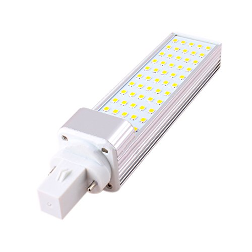 aquiver 25LEDs maíz bombilla SMD 2835LED lámpara 180degeree AC 85–265V 5W iluminación LED G24bombilla LED KTV Bar Casa habitación y # xFF08; Blanco cálido y # xFF09;