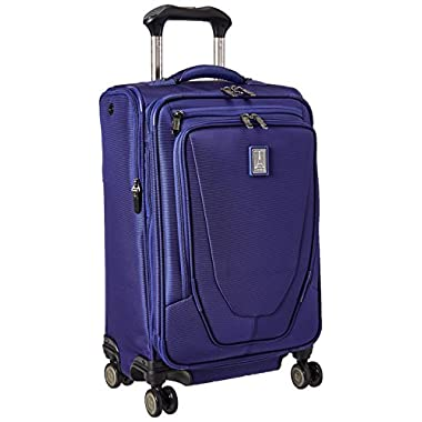 Travelpro Crew 11 21  Expandable Spinner Carry-on Suiter Suitcase, Indigo