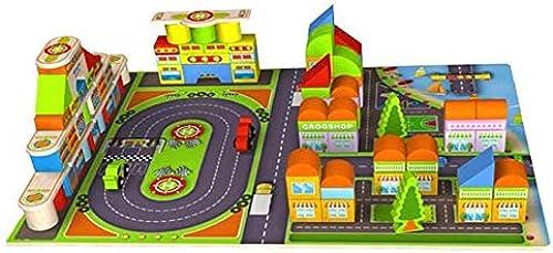 CHAIZIYU Bausteine Spielzeug 168 Korn-Rennfeld Montage Bausteine Kinderspielzeug HolzQualität S lingsjungen und mädchen Early Education Intelligence Erleuchtung Fass