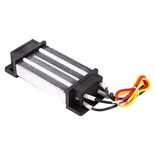 Riscaldatori PTC, elemento riscaldante termostatico ceramico termostatato ad alta potenza da 200 W DC 12V per unità di condizionamento dell'aria, macchina della cortina d'aria, asciugatrice, asciugatr