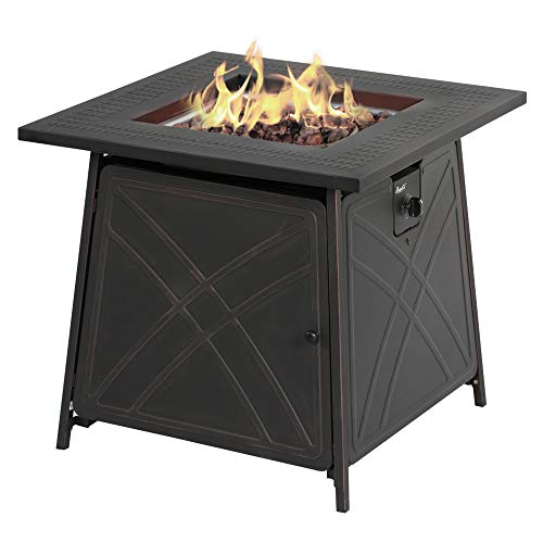 BALI OUTDOORS Firepit LP Gas Fireplace 28'...