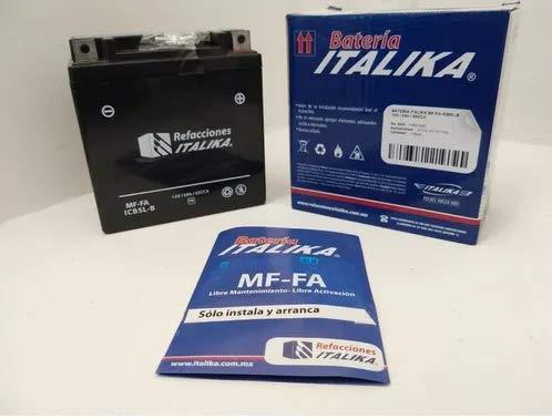 Batería para motos Italika At110 Icb5l-b motocilcetas