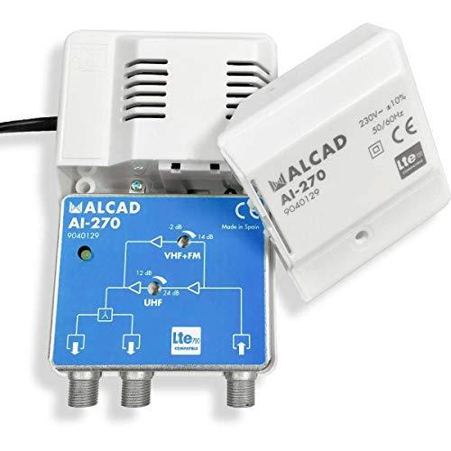 Amplificador Interior 2 Salidas LTE700 (AI-270)