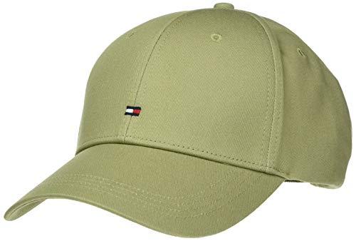 Tommy Hilfiger BB Cap Gorra de béisbol, Verde (Faded Olive L9f), Talla Única (Talla del Fabricante: OS) para...