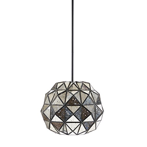 Hampton Hill MP151-0136 Harlowe Pendant, Mercury