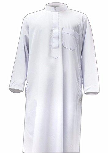 Desert Dress - Robe Kaftan été habillé modèle Homme Style Arabe Dishdasha Jubba Qatary Omani - Non communiqué, Blanc
