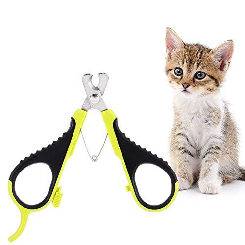 You&Lemon Cortaas Gato Profesional Tijeras de Garra de Acero Inoxidable para Mascota Recortador para Perros Conejos y Mascota Pequea-el Mejor Kit de Cortaas para Mascota Casero