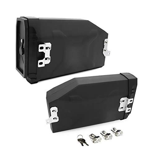 robots master Caja de Herramientas Laterales Izquierda Izquierda de la Motocicleta 5 litros para BMW R1200GS / R 1200 GS ADV 2014-2018 R1250GS 2019 Benelli Trk502 2016-2019