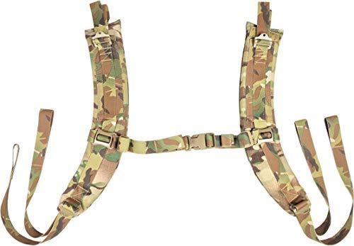 Fire Force A.L.I.C.E. Pack Shoulder Straps LC-2 Shoulder Strap Pads Made in USA (Multi Cam)