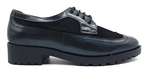 MARIA JAEN 5574 Zapato Cordones Mujer Negro 40