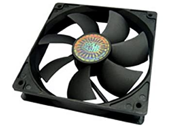 Cooler Master Sleeve Bearing 120mm Silent Fan for Computer Cases CPU Coolers and Radiators  Value 4-Pack