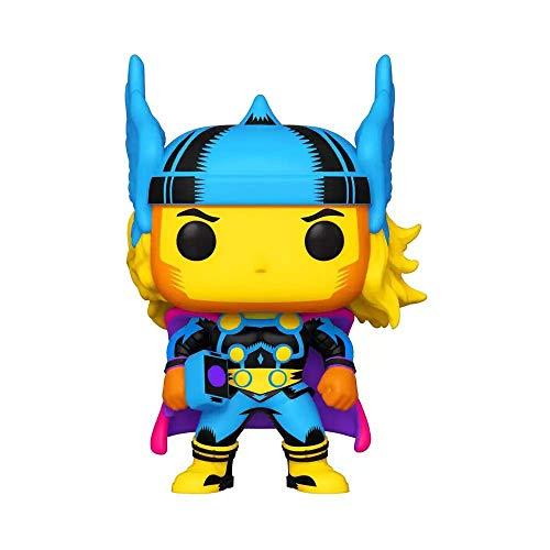 Funko 48847 POP Marvel: Black Light-Thor, Multicolour