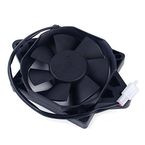 12V Ölkühler Elektrischer Kühler Lüfter passend für 200 250 CCM Chinesisches Dirt Bike